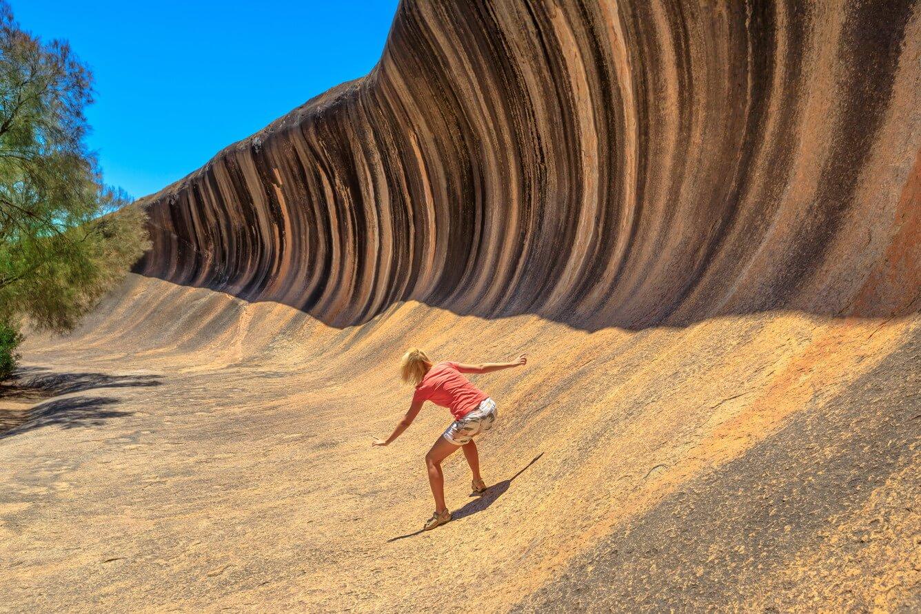 Chiêm ngưỡng kỳ quan đá có gợn sóng tuyệt đẹp