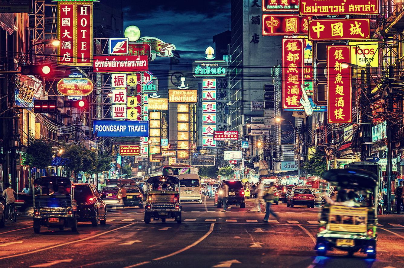 """""""Lạc trôi"""" giữa khu phố người Hoa (China Town)"""