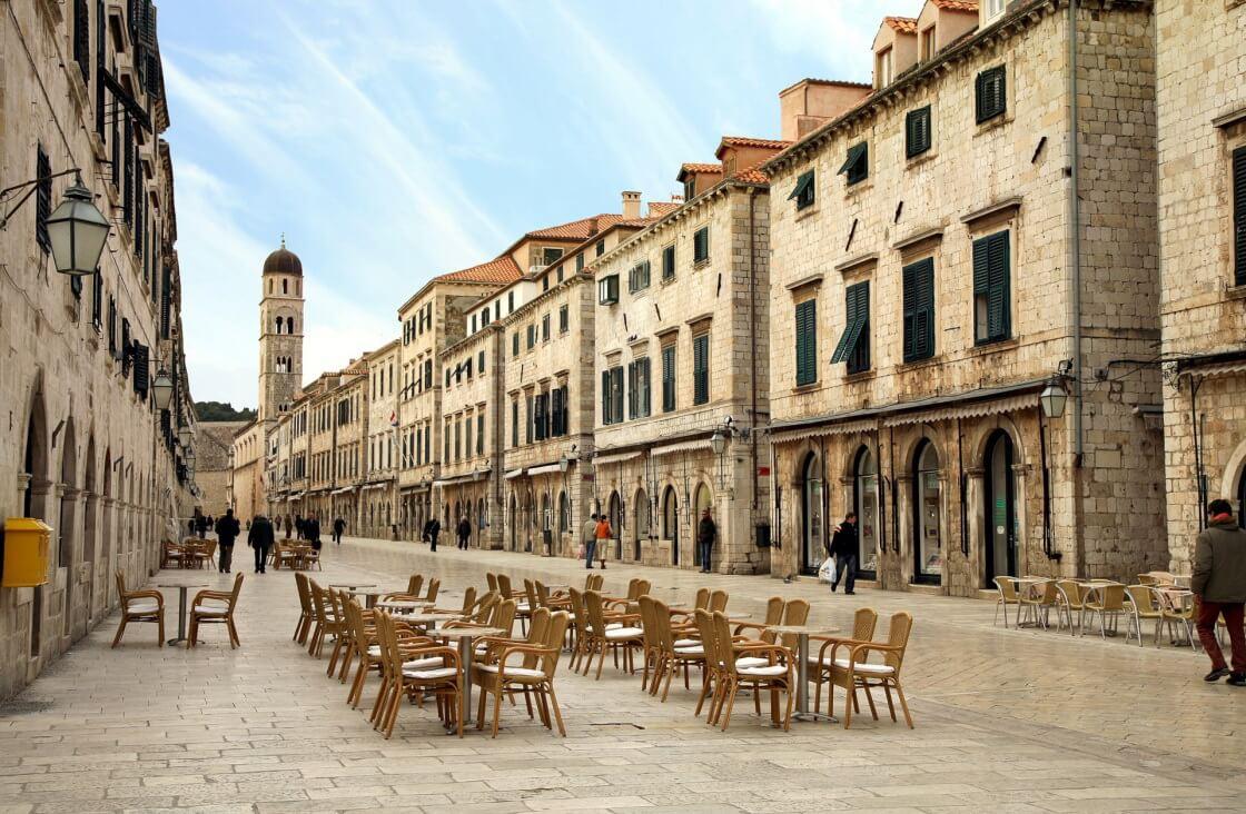 Dubrovnik, khu phố cổ mang phong cách La Mã