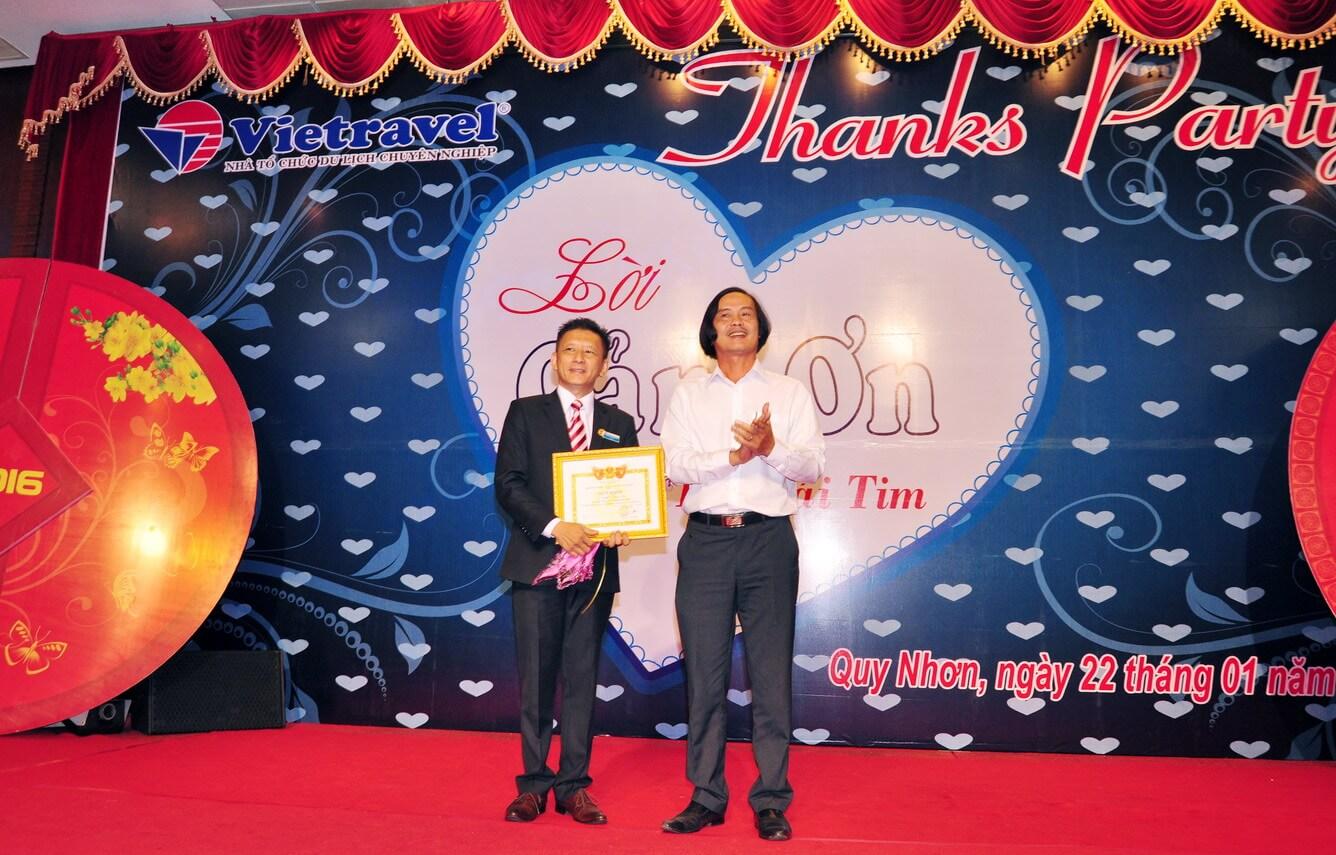 Vietravel tổ chức Hội Nghị Khách Hàng nhân dịp đón xuân Bính Thân 2016 tại Bình Định