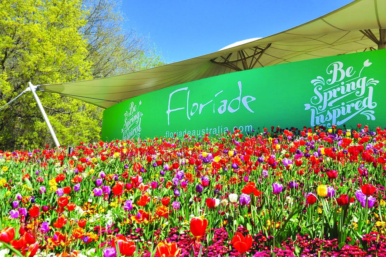 Floriade đón chào mùa xuân Úc