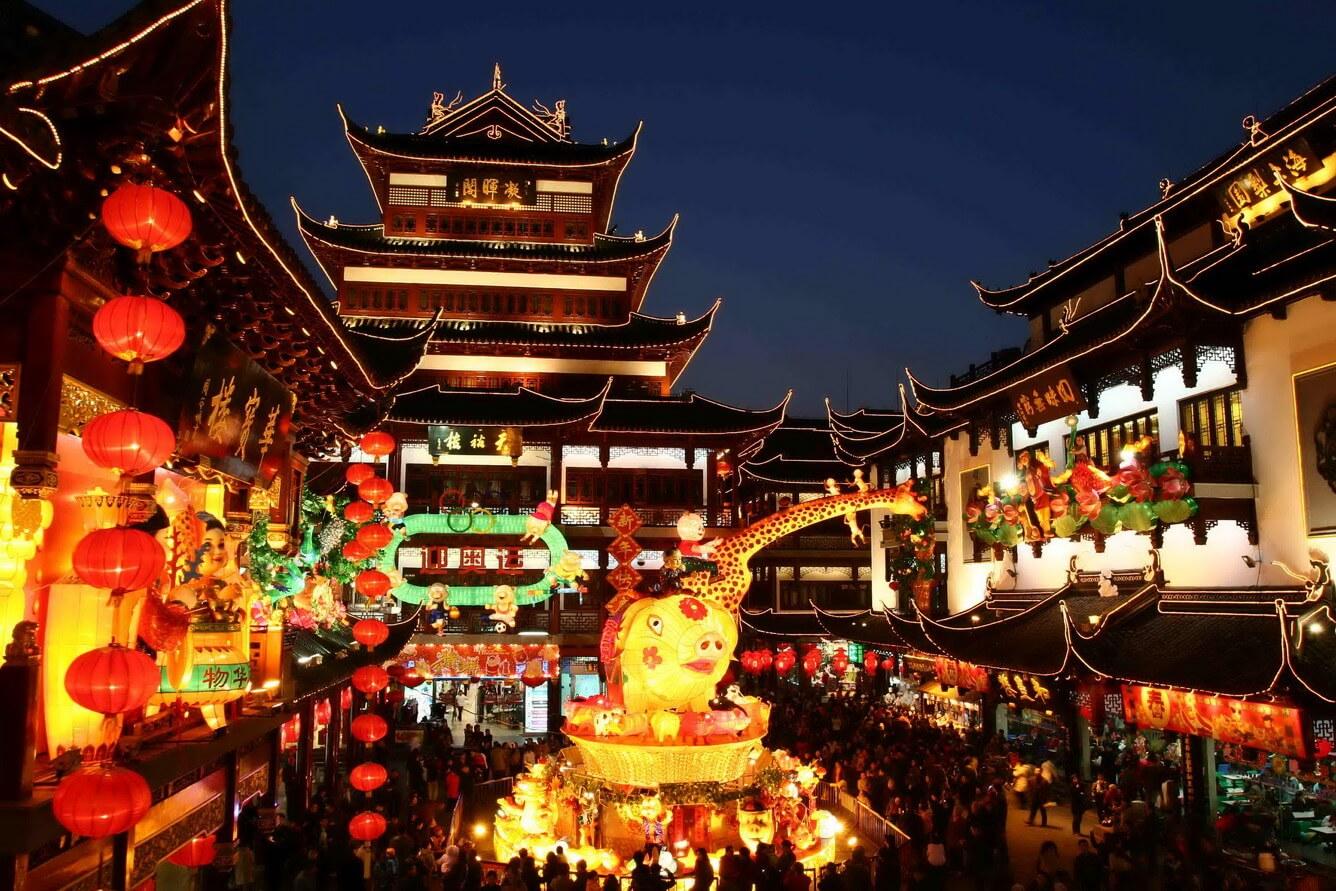 Trải nghiệm không khí Tết cổ truyền Trung Hoa