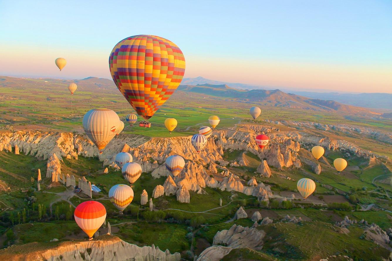 """Bay"" trên khinh khí cầu Cappadocia"