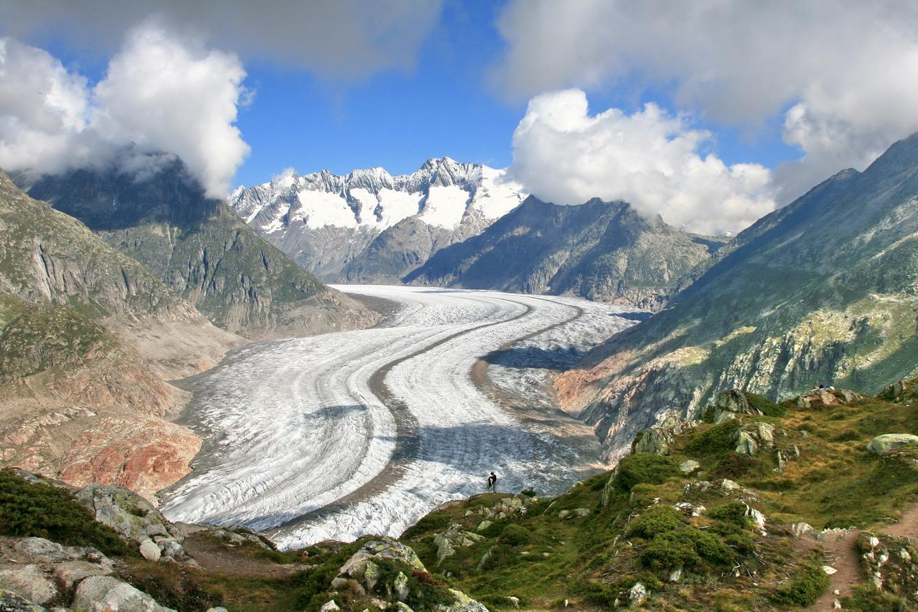 Aletsch - Dòng sông băng vĩnh cửu