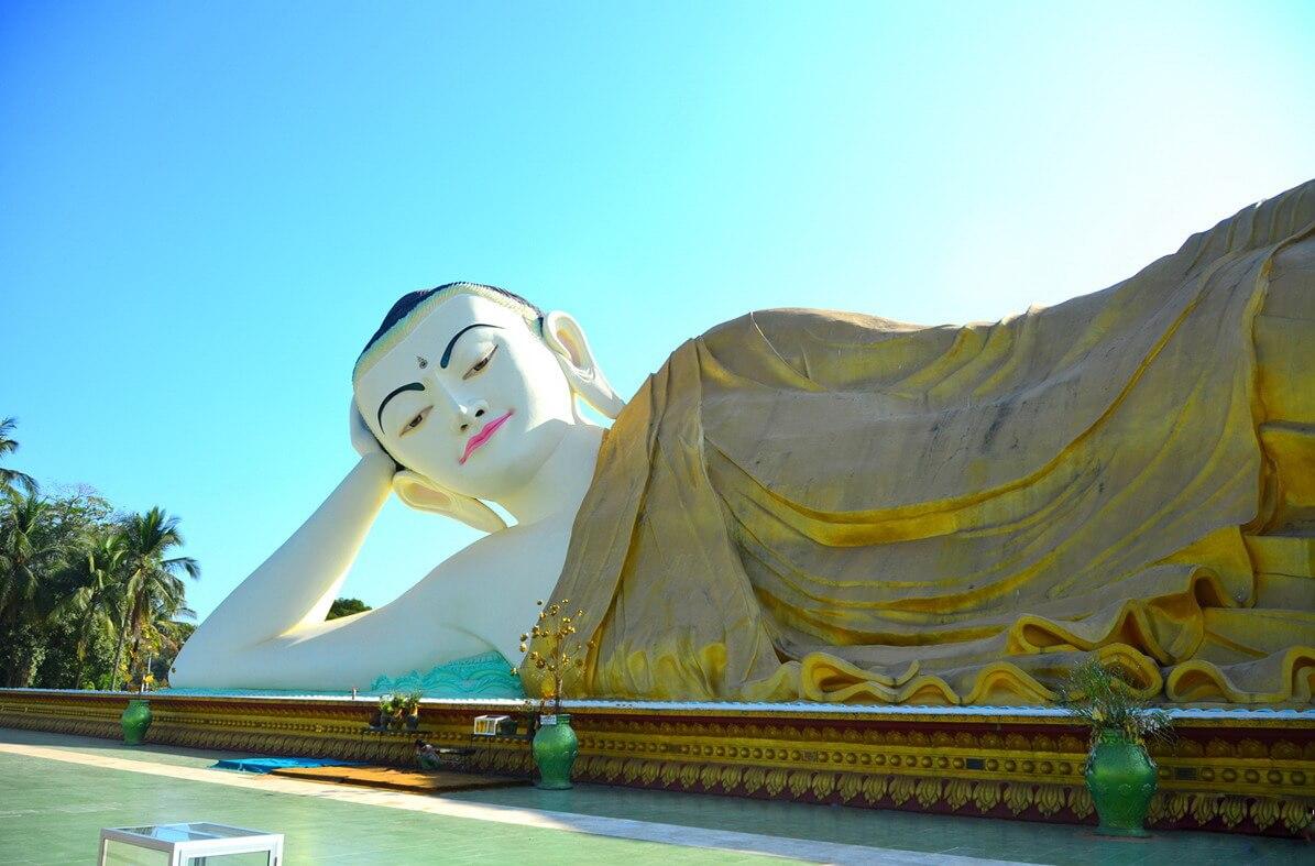 Tượng Phật nằm Shwei Tha Lyaung - Nét đẹp từ tâm linh