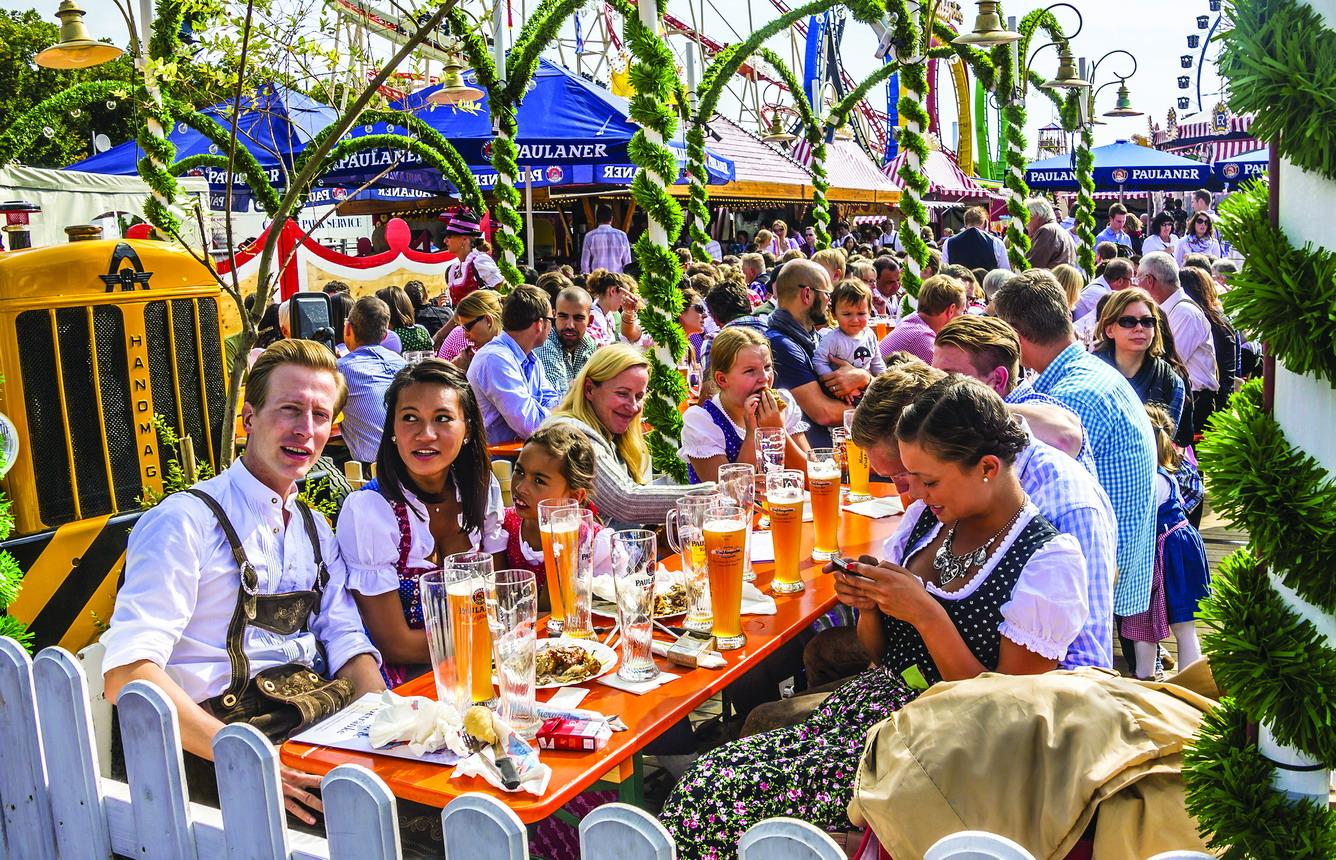 Hào hứng cùng lễ hội bia Đức - Oktoberfest 2015