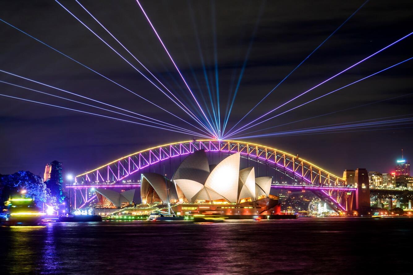 Ấn tượng với lễ hội ánh sáng Vivid