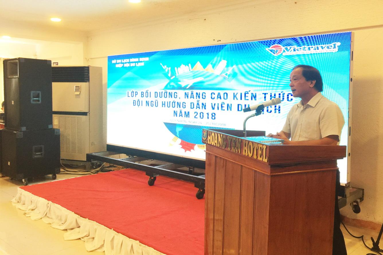 Vietravel tổ chức lớp bồi dưỡng, nâng cao kiến thức đội ngũ Hướng Vẫn Viên du lịch tỉnh Bình Định