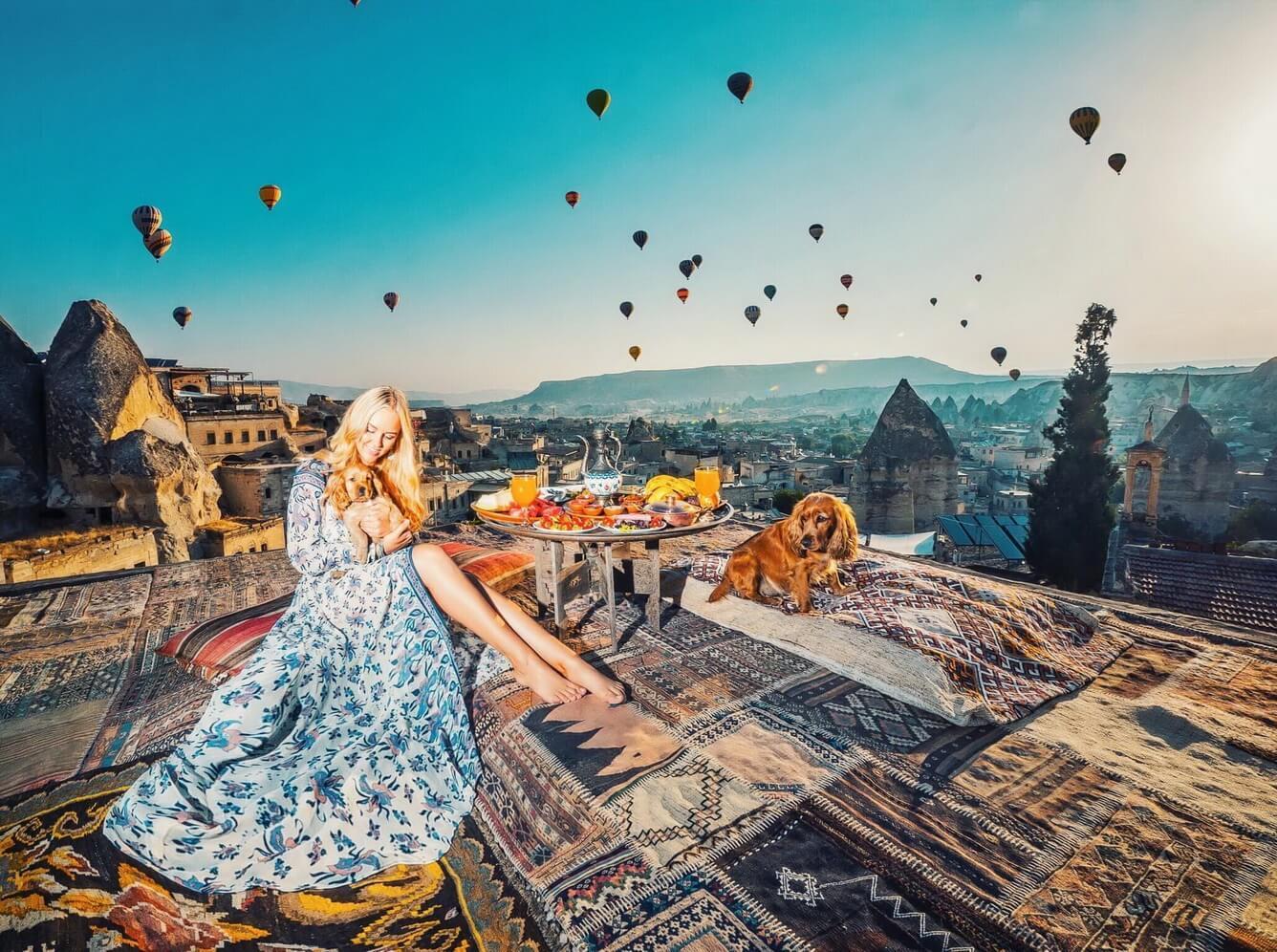 """Sống ảo """"quên lối về"""" nơi thung lũng Cappadocia"""