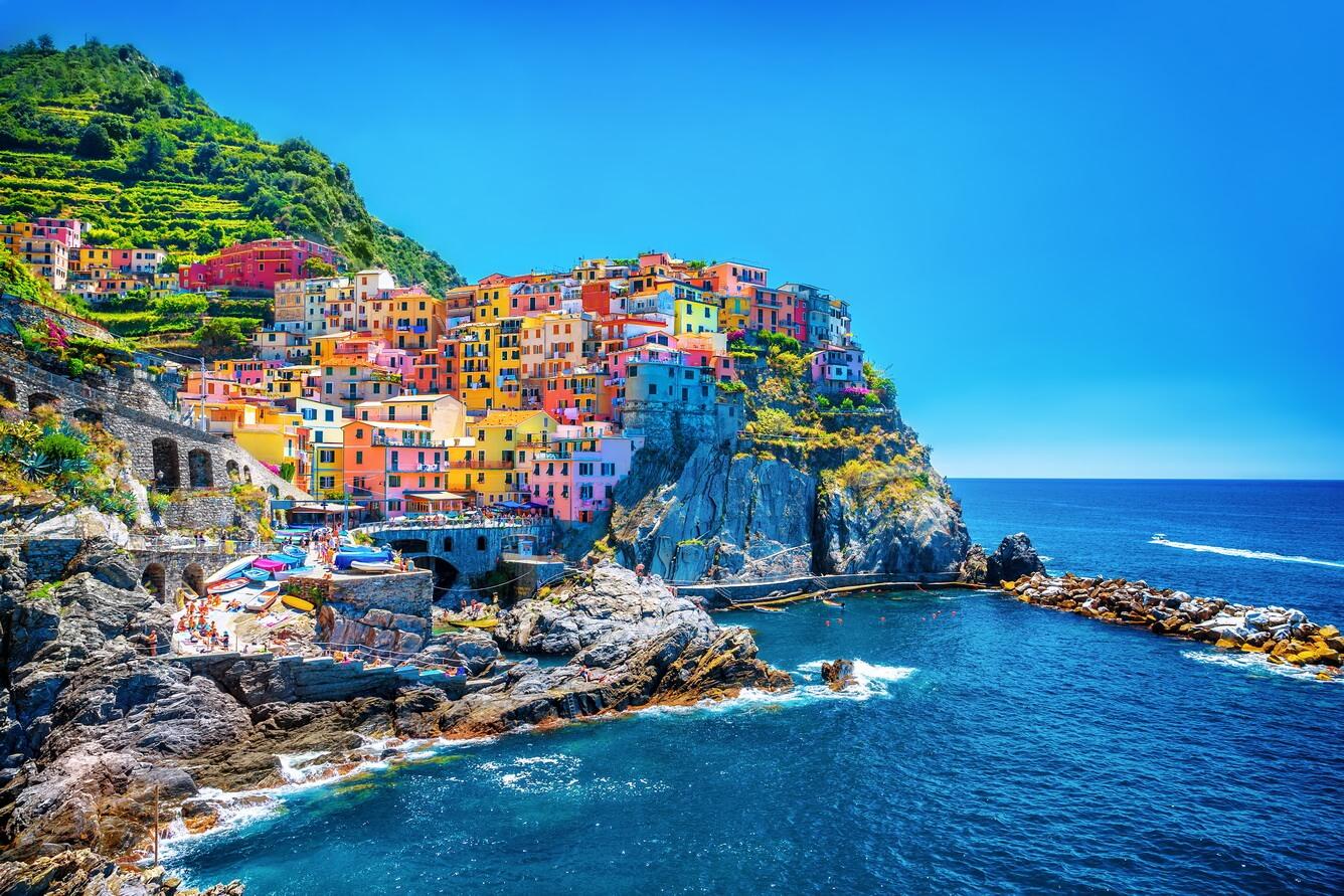 Thiên đường sắc màu Cinque Terre