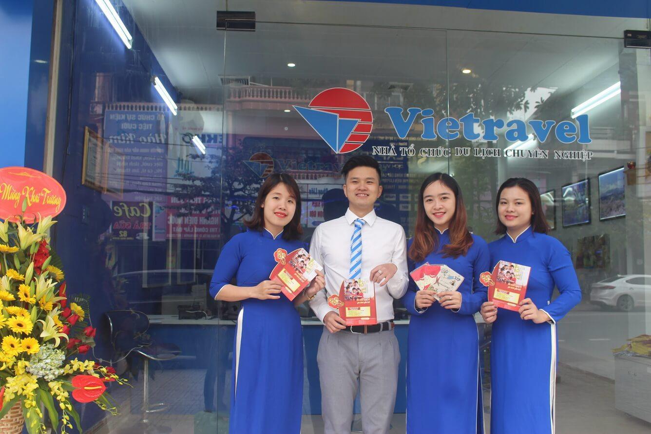 Vietravel Thái Nguyên chính thức đi vào hoạt động - Ưu đãi giảm đến 02 triệu khi đăng ký tour