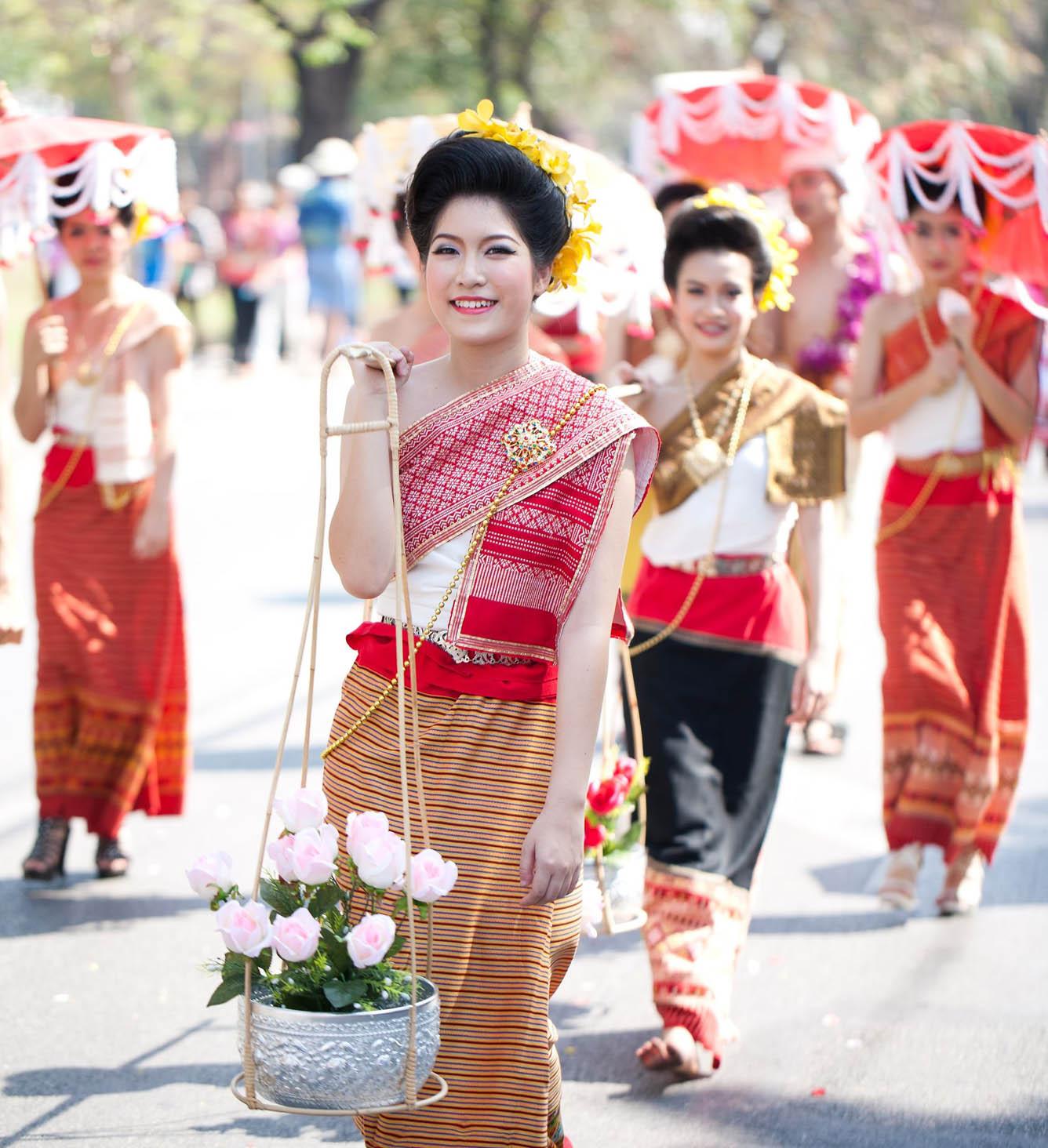 Tết Té Nước ở Đông Nam Á năm 2015