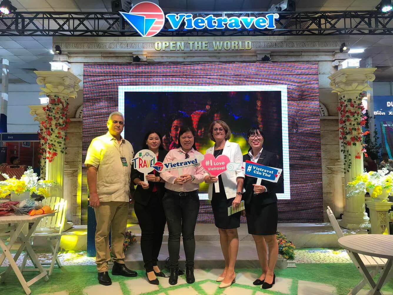 Vietravel đồng hành cùng Hội Chợ Du Lịch Quốc Tế VITM Cần Thơ 2019