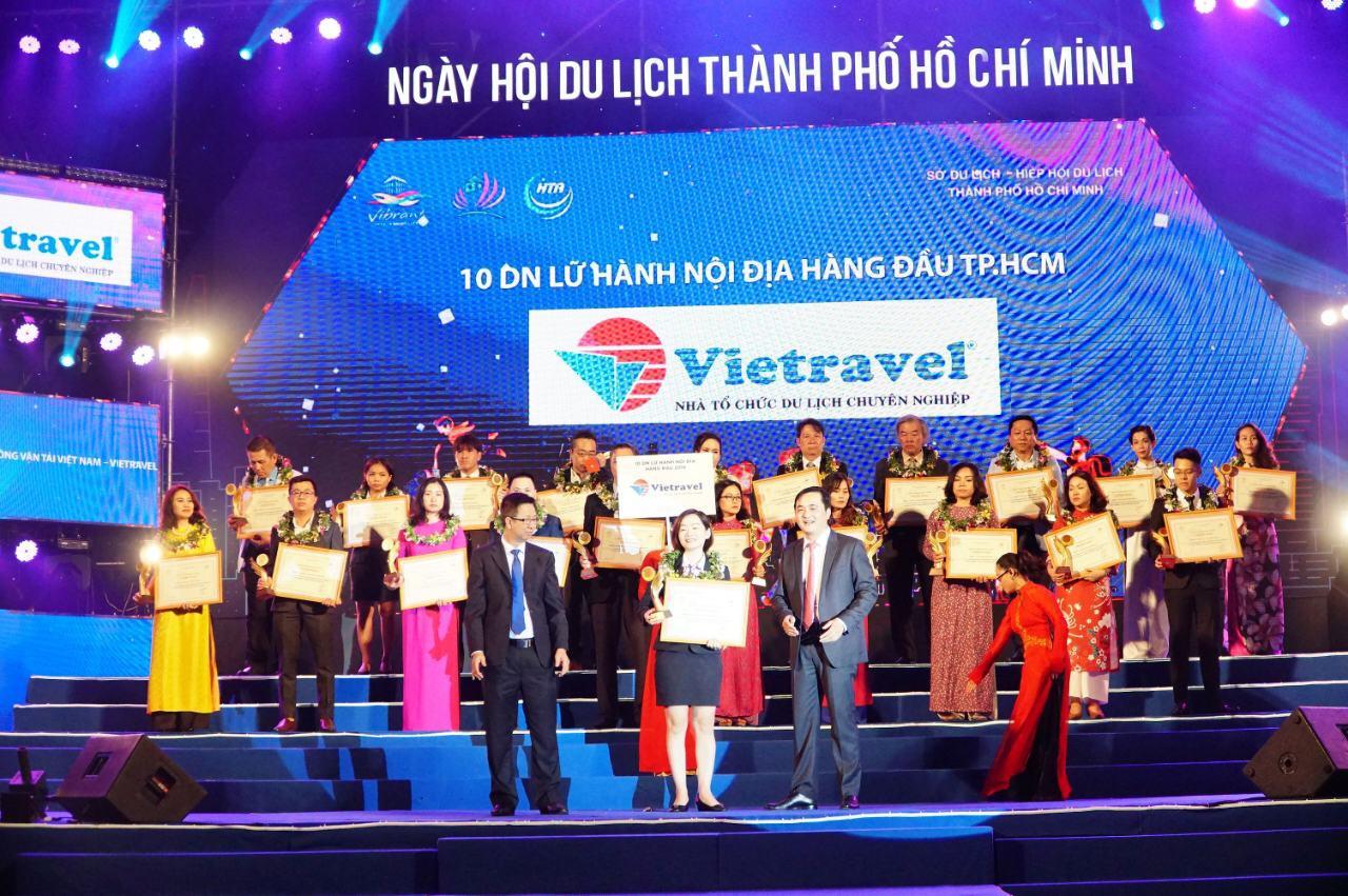 Dẫn đầu top Doanh nghiệp Lữ hành Nội địa hàng đầu TP.HCM