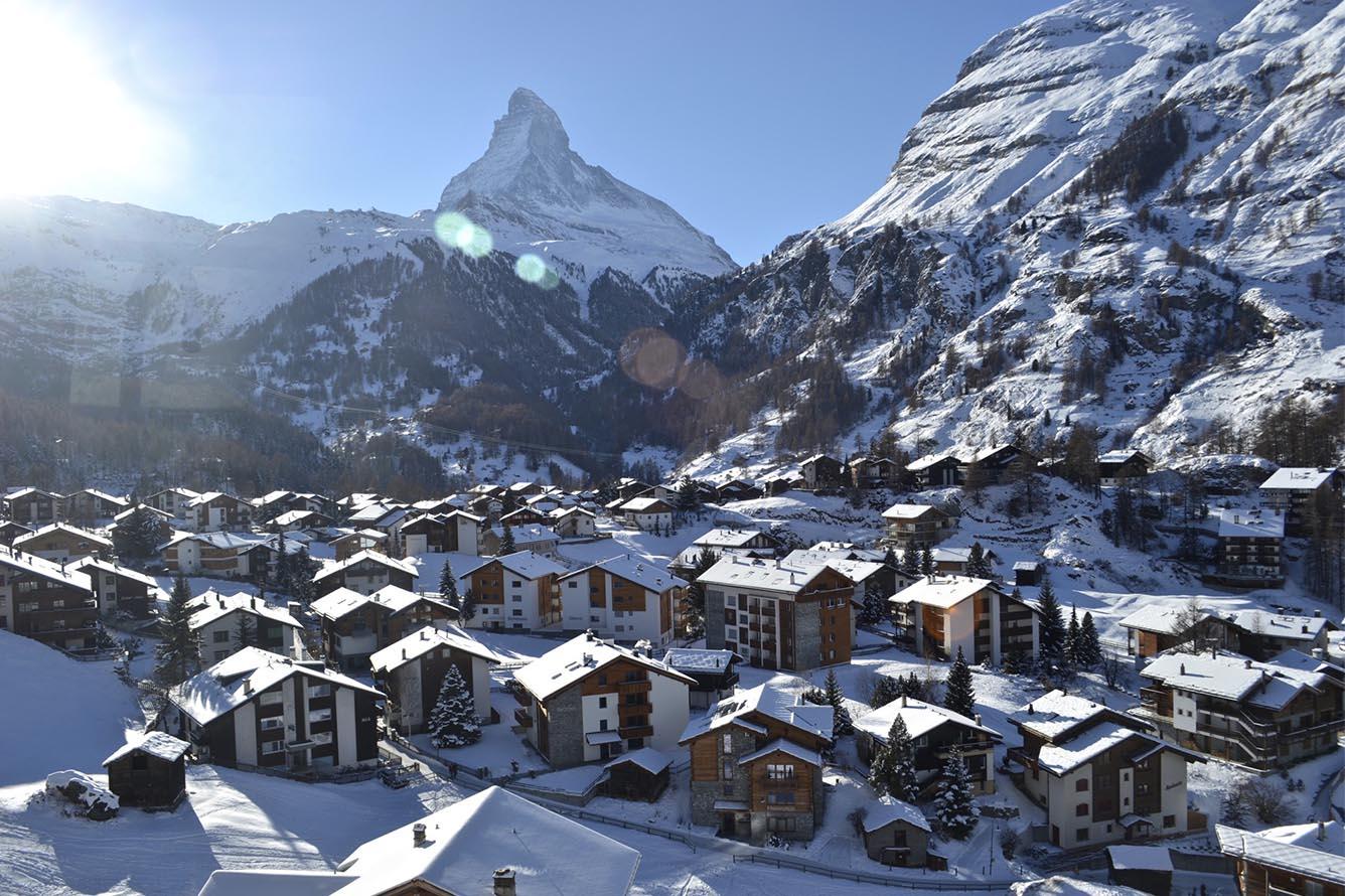 Ngôi làng Zermatt thần tiên