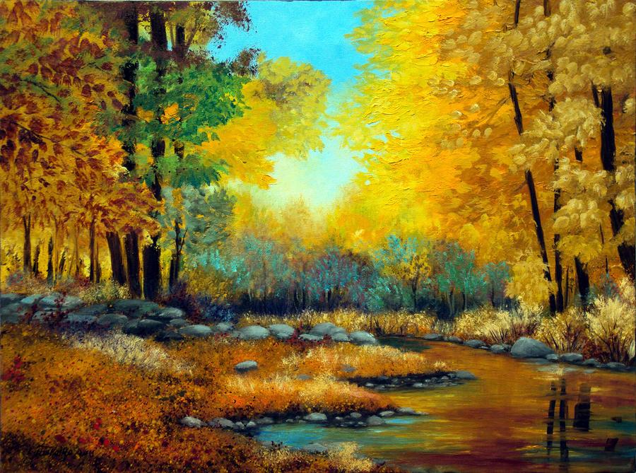 Suối trong rừng thu - Tác giả: Laura Tasheiko