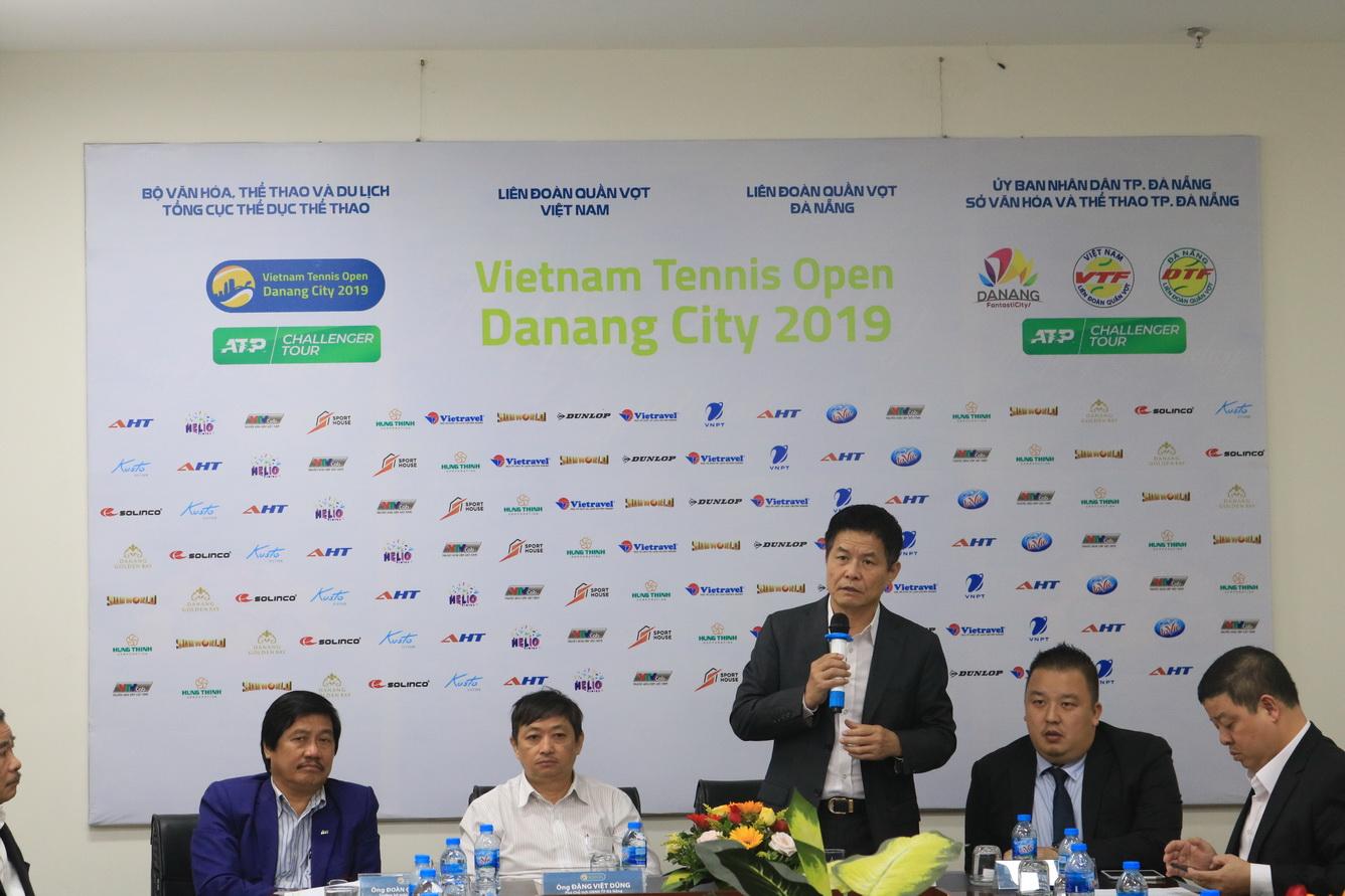 Họp báo Giải Quần vợt Nhà nghề Vietnam Open Da Nang City 2019