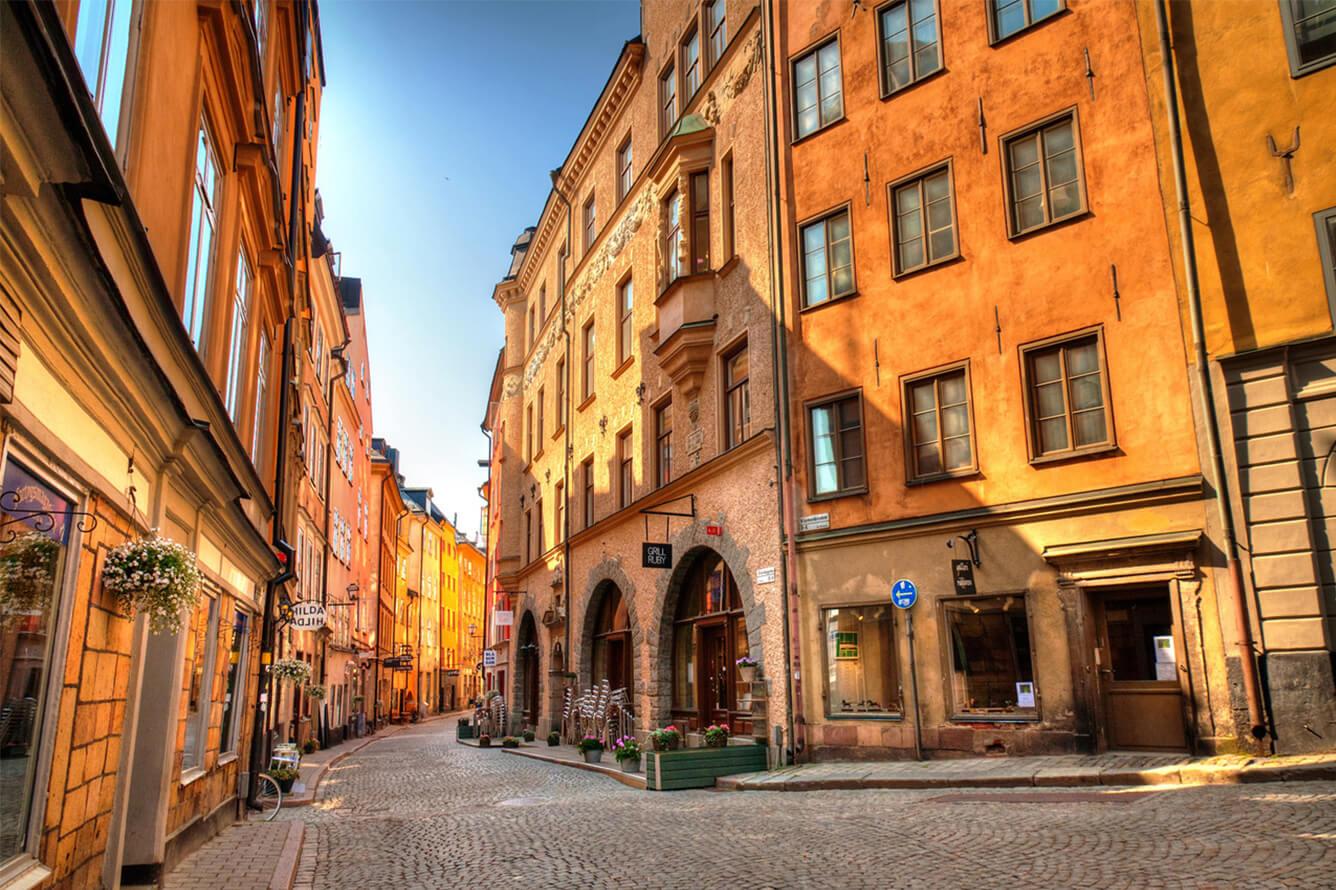 'Hẹn hò' cùng thu vàng Stockholm