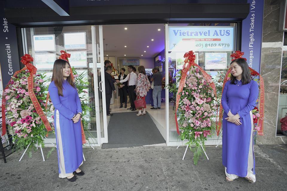 Tưng bừng khai trương văn phòng Vietravel tại sydney - Úc