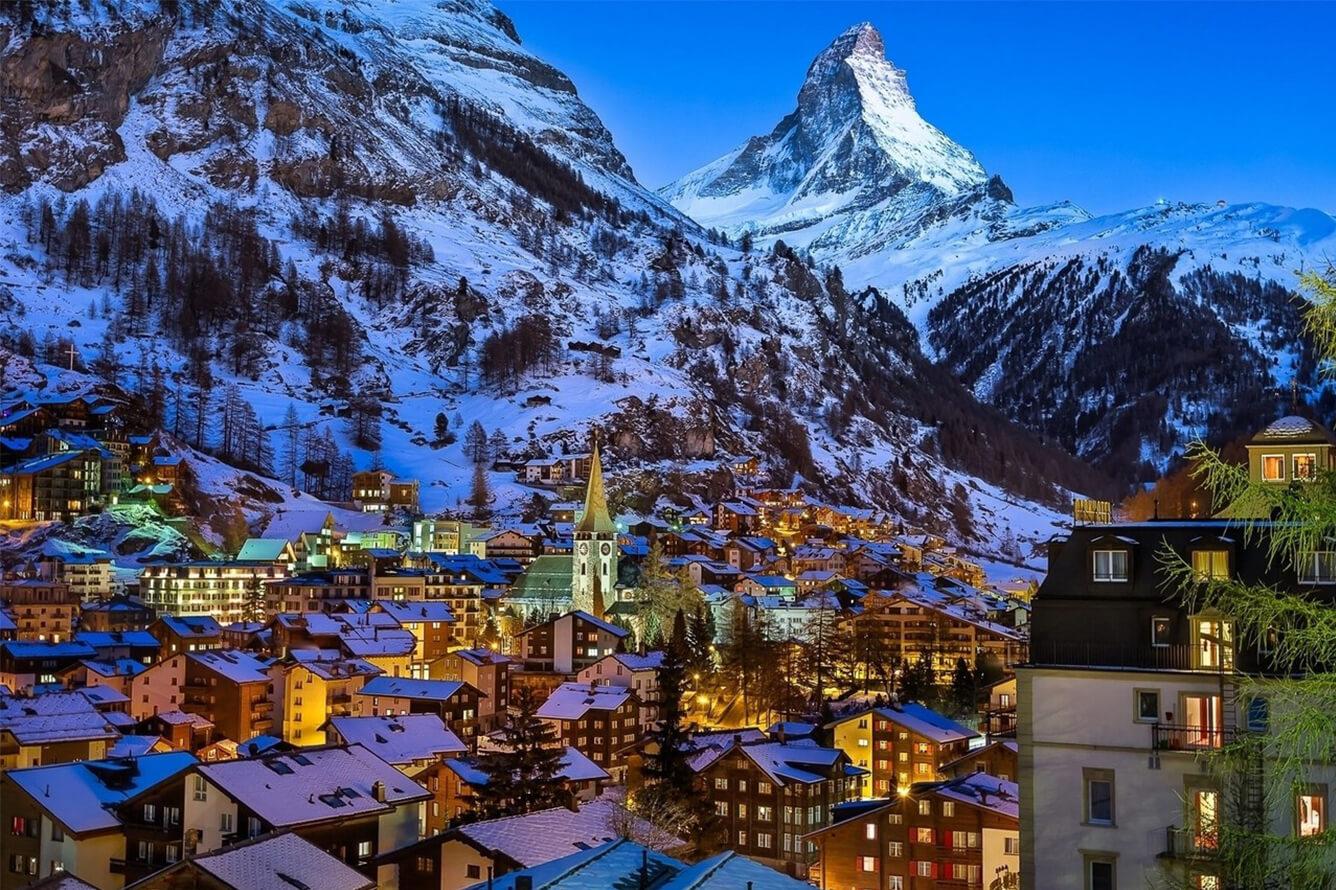 """""""Giấc mơ tuyết trắng"""" mang tên Thụy Sĩ"""