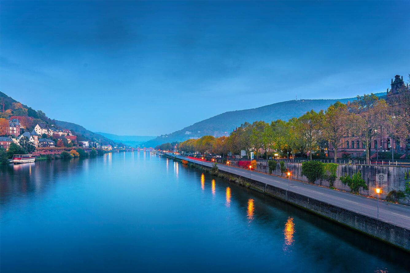 Có một Heidelberg (Đức) đẹp như thơ