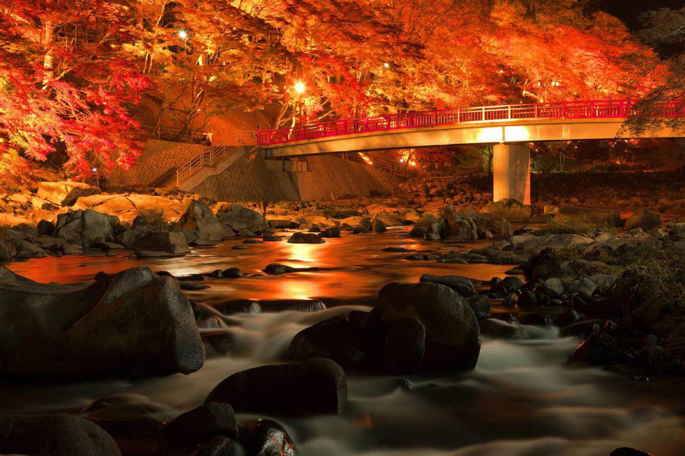 Thung lũng Korankei – Lộng lẫy sắc thu Nhật Bản