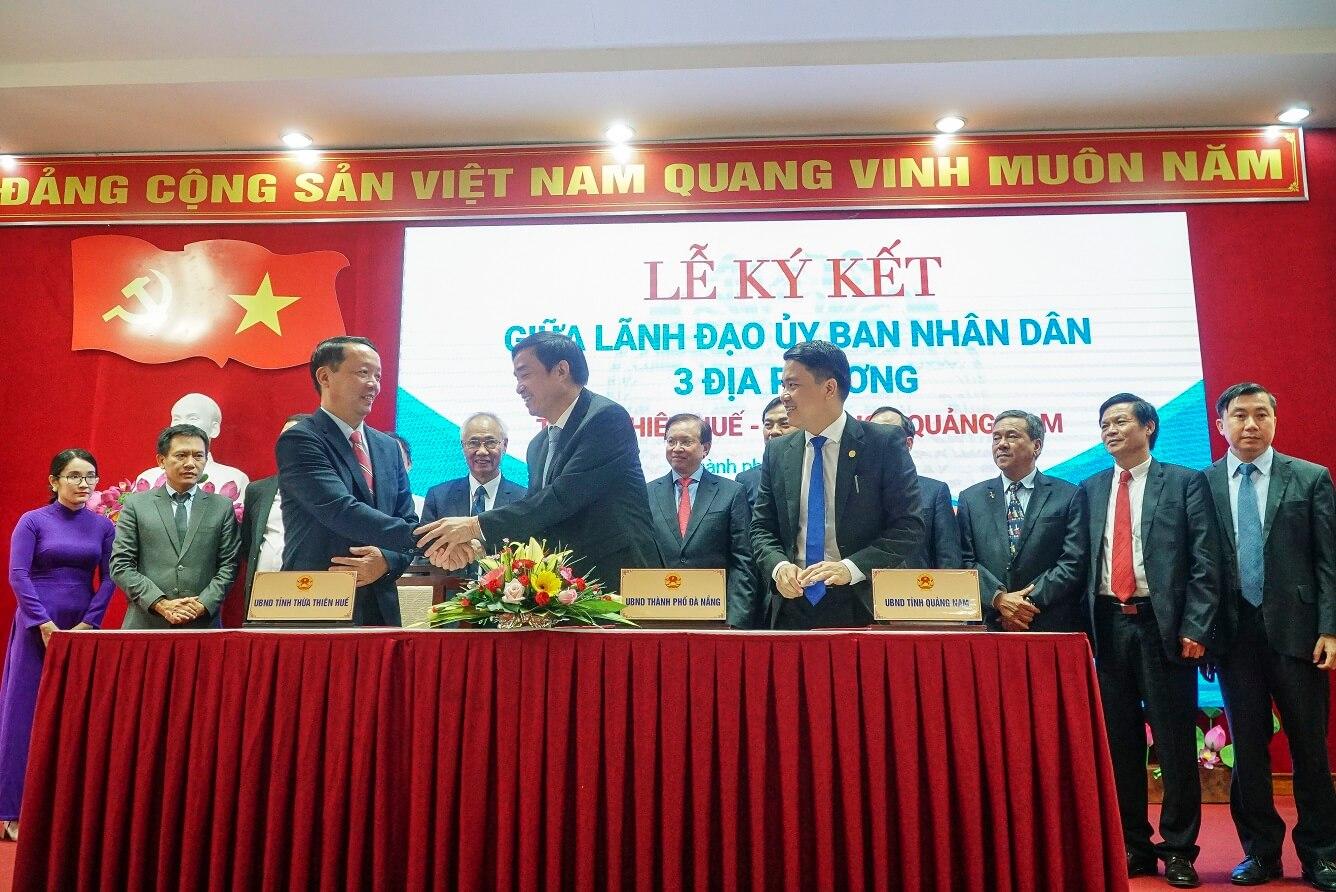 Chương trình liên kết hành động phục hồi, phát triển du lịch 3 địa phương: Thừa Thiên Huế - Đà Nẵng - Quảng Nam