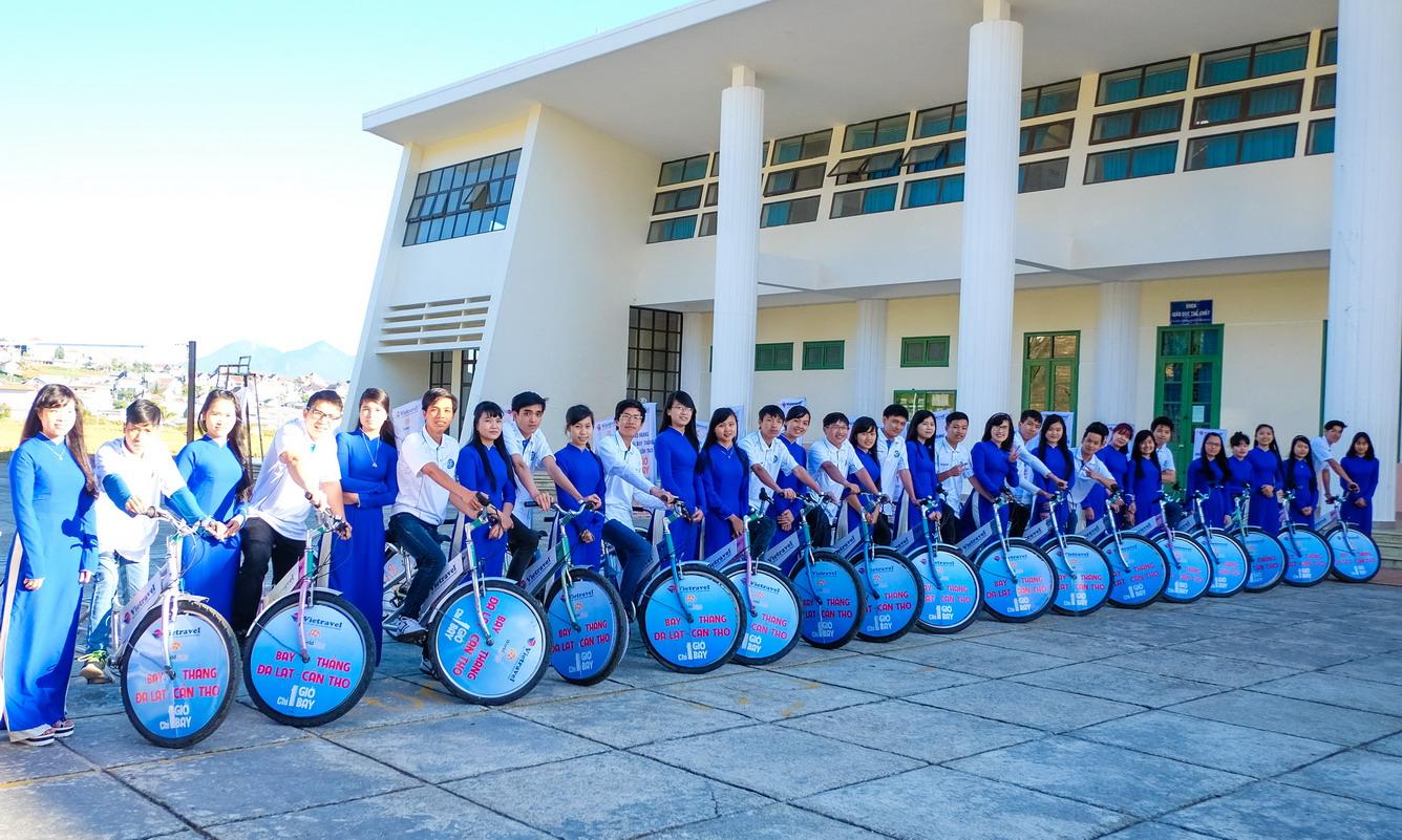 Hình ảnh roadshow của Vietravel sáng ngày 30/12/2015 tại thành phố Đà Lạt