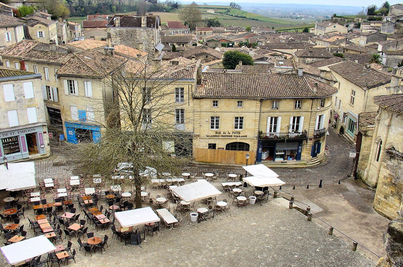 5. Làng trung cổ Saint-Émilion