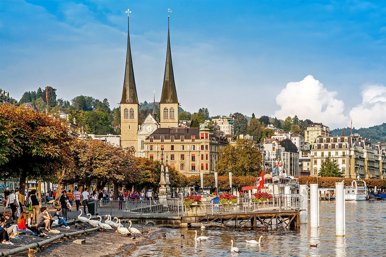 4. Lucerne (Thụy Sĩ)
