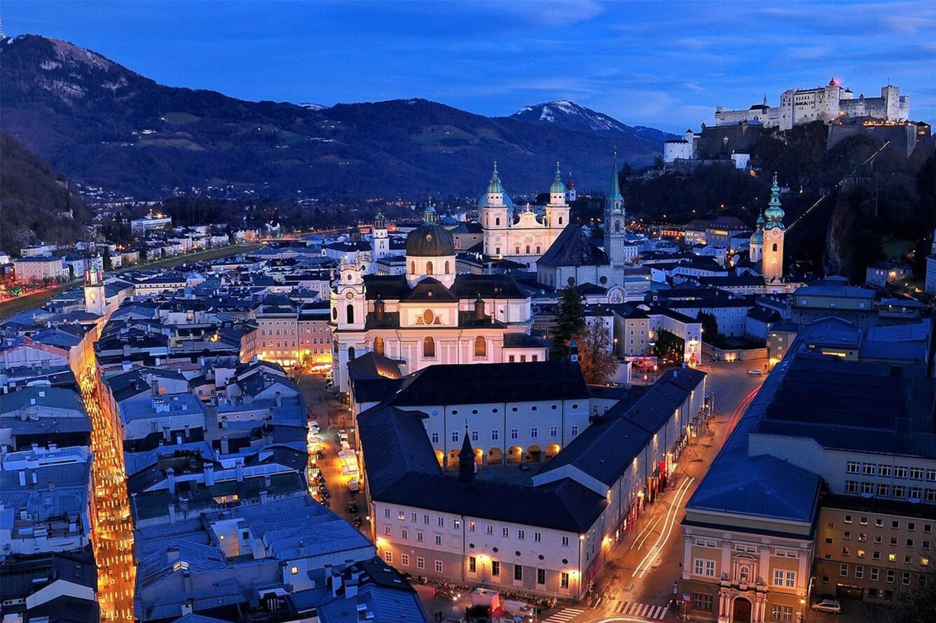 6. Salzburg (Áo)