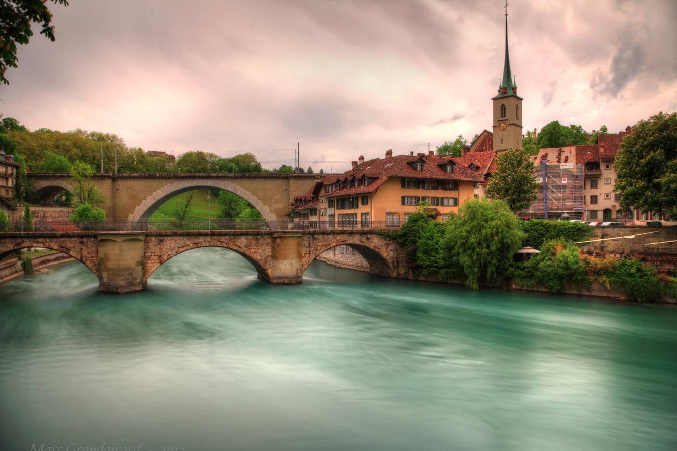 Khám phá cung đường mùa thu Thụy Sĩ