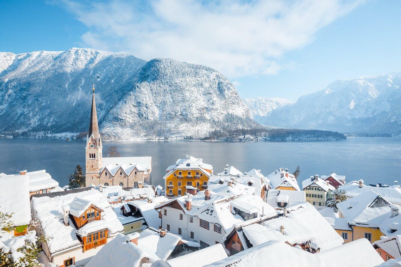 Mùa đông châu Âu cổ tích