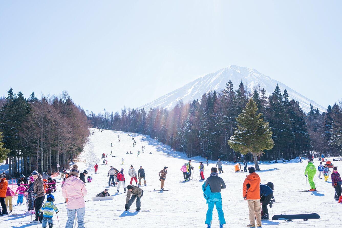 Thử sức cùng các môn thể thao mùa đông thú vị tại Đông Bắc Á