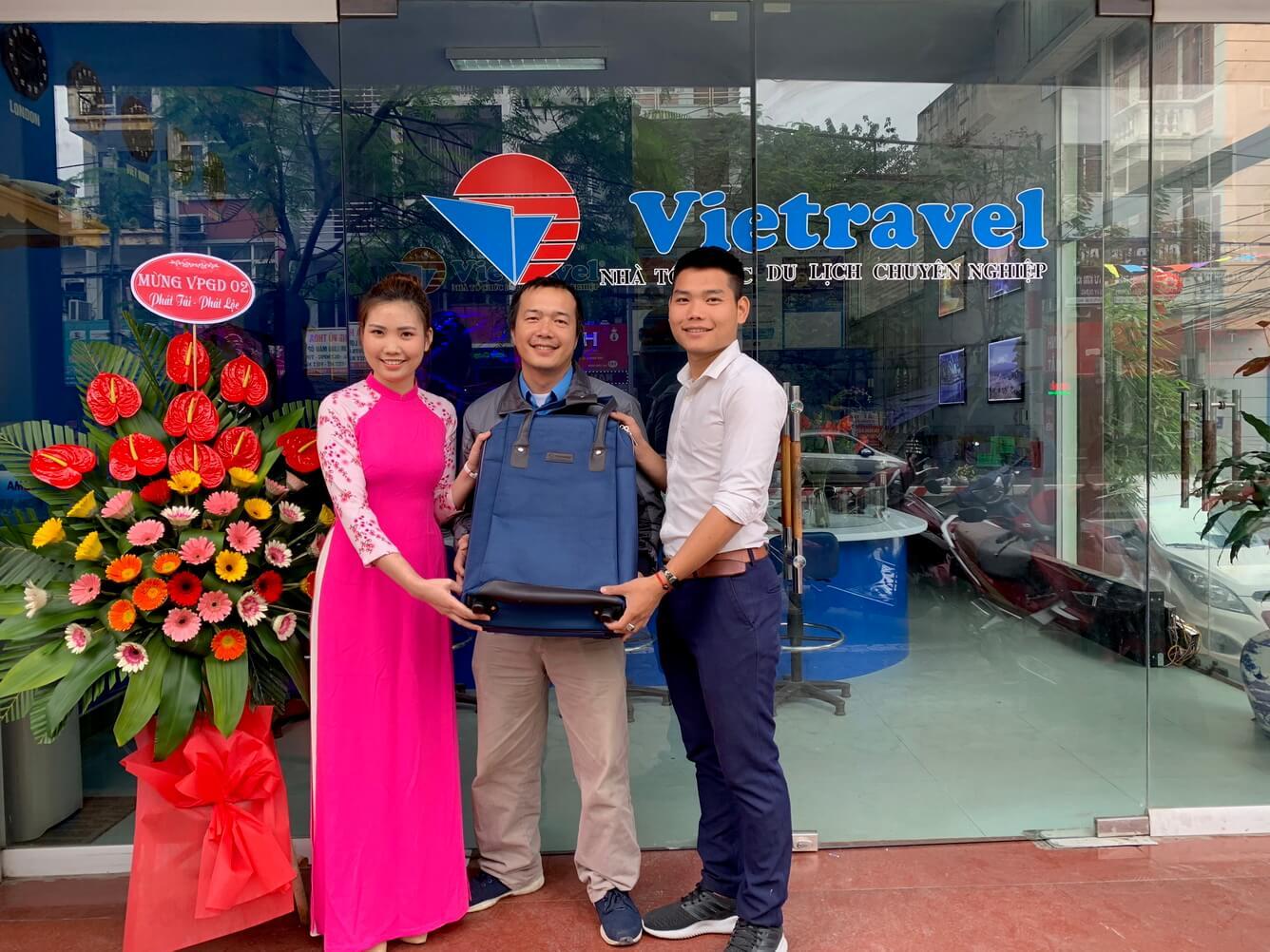 Vietravel Hà Nội thay đổi địa điểm Văn phòng số 2