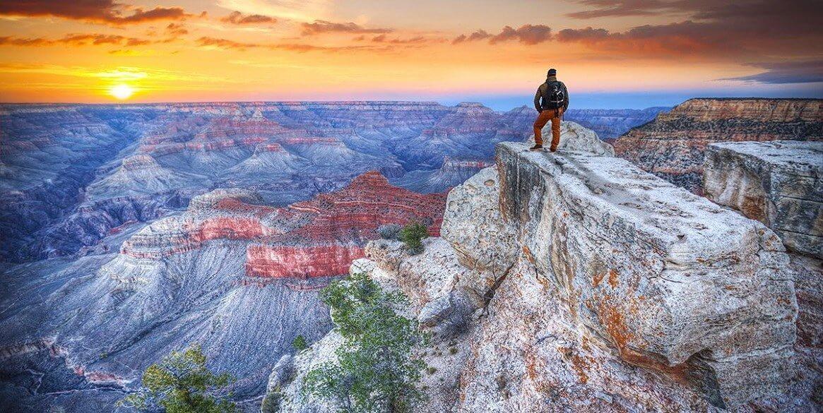 Thử thách bản thân tại Grand Canyon