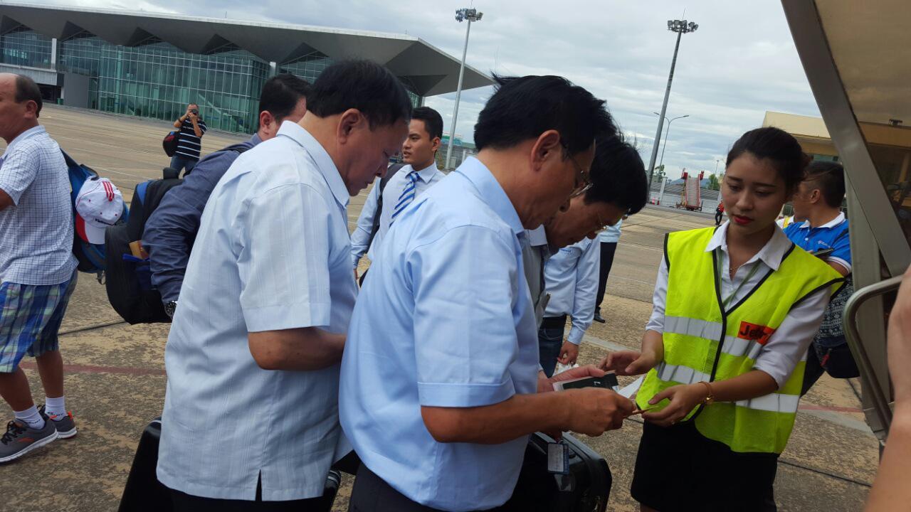 Chính thức khai trương đường bay thẳng Vinh - Bangkok
