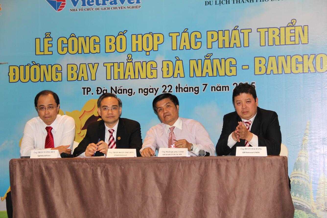 Đường bay thẳng Đà Nẵng – Bangkok mang Thái Lan đến gần với du khách miền Trung