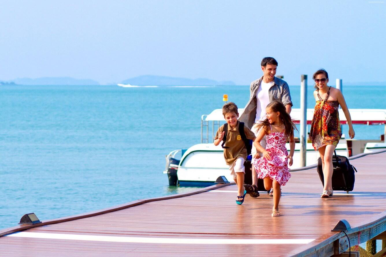 Du lịch cùng gia đình, tại sao không?