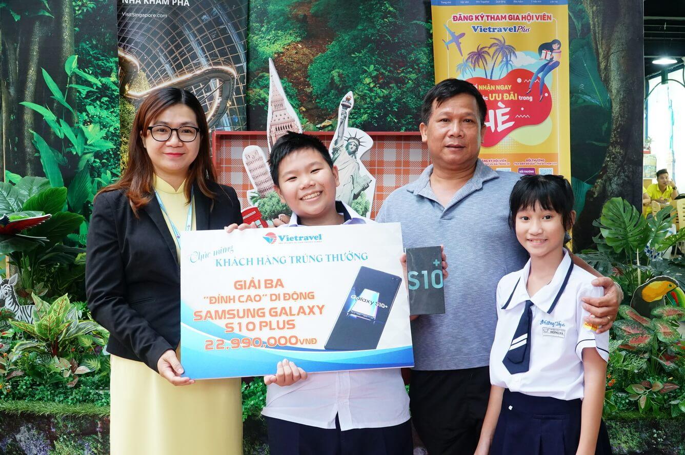 Vietravel tìm ra chủ nhân giải thưởng siêu phẩm công nghệ trong tháng 6