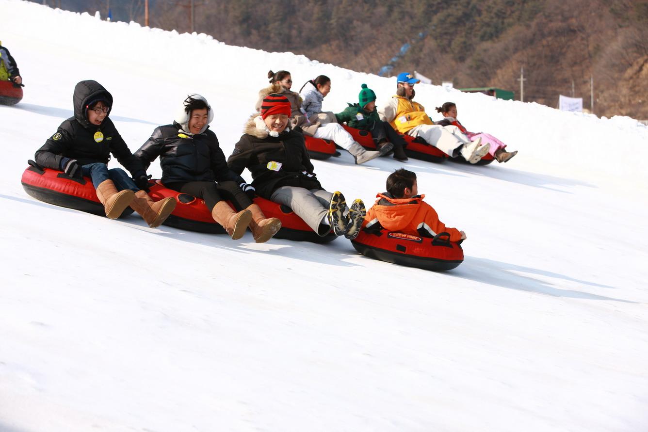 Choáng ngợp các khu trượt tuyết đẳng cấp ở Gangwon