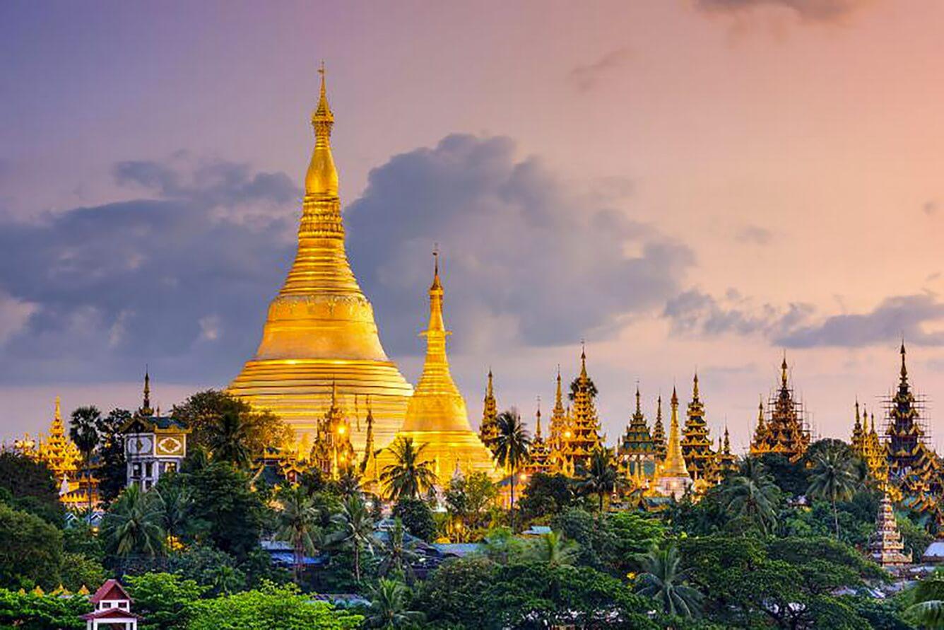 1. Chùa Shwedagon (Myanmar)