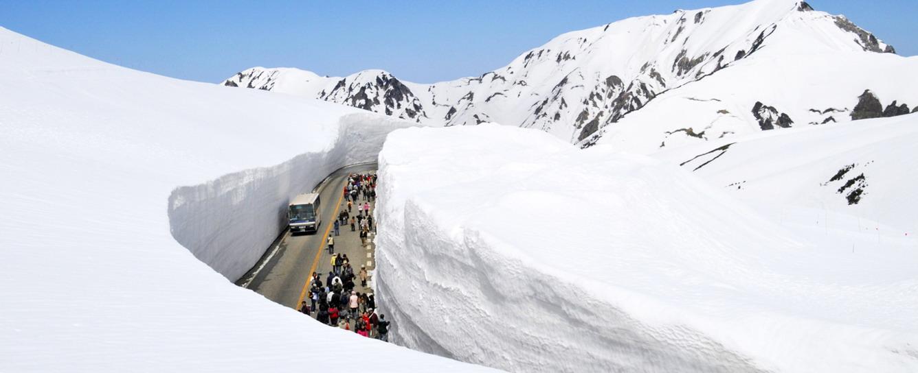 Độc đáo Tateyama Kurobe Alpine Route