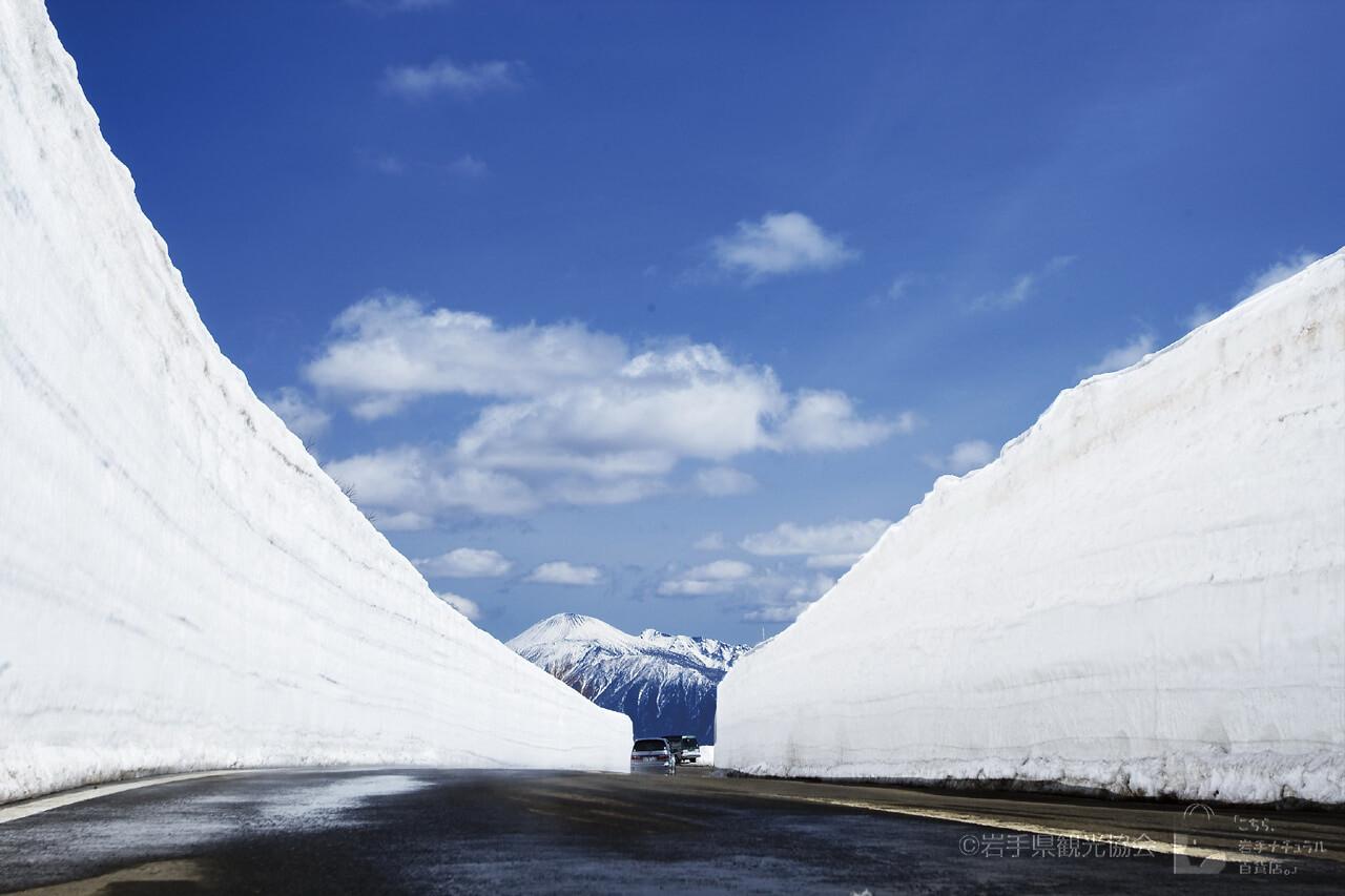 2. Đường Hachimantai Aspite (Tỉnh Iwate và Akita)