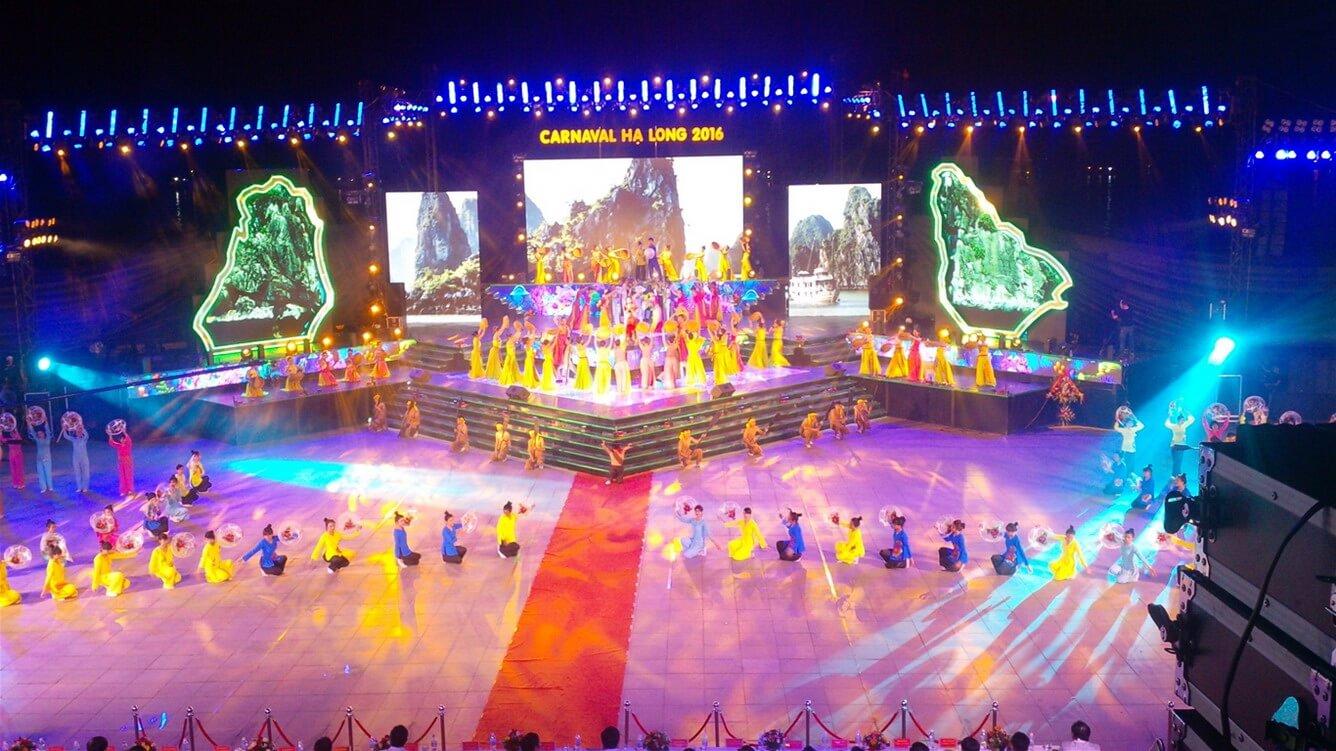 Carnaval Hạ Long rực rỡ sắc màu