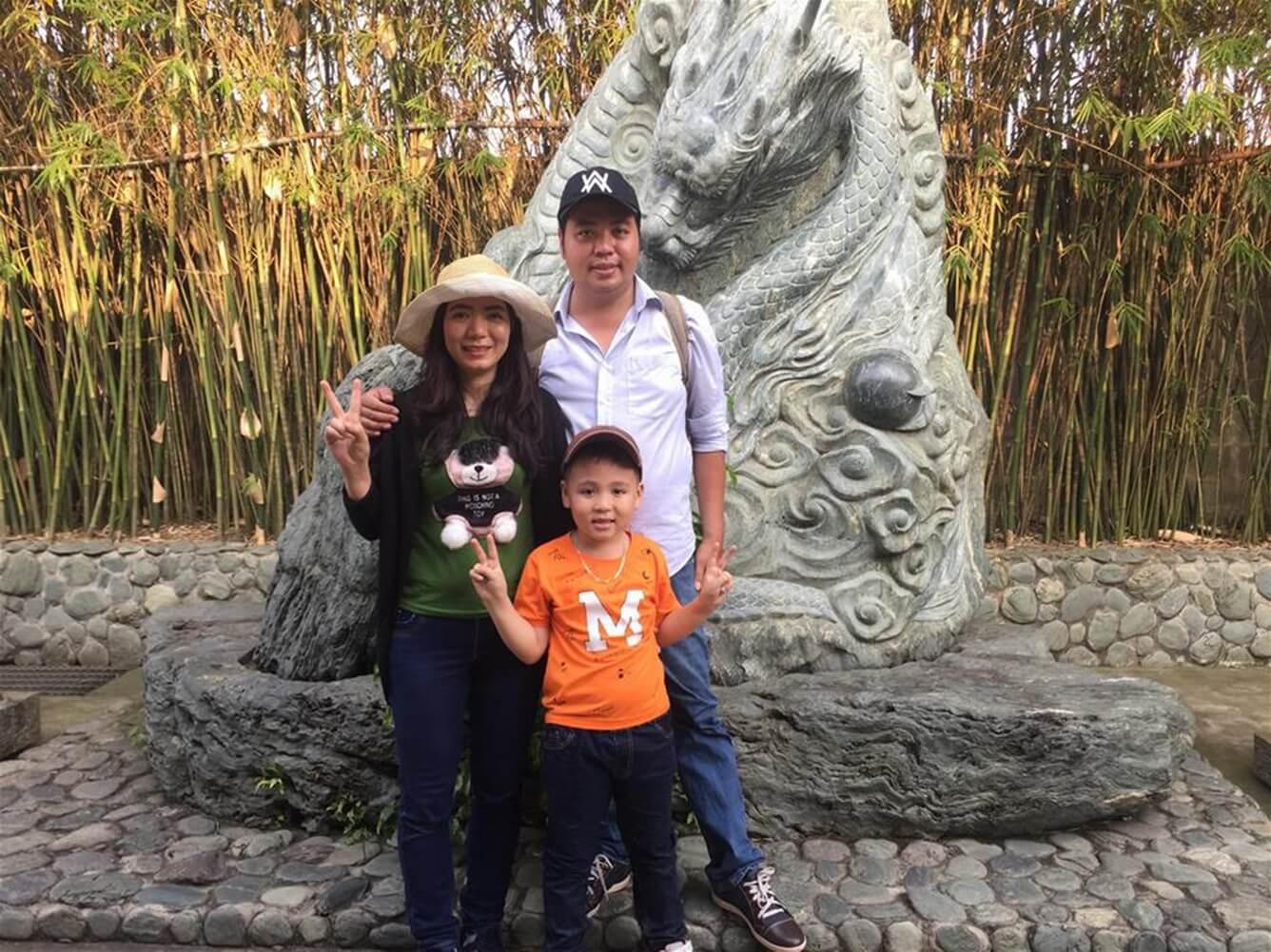"""""""Chuyến du lịch bí mật"""" của Bin – Bé Nguyễn Đức Tuấn, Đồng Nai"""
