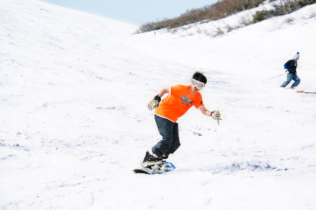 Trượt tuyết mùa hè tại Gasan