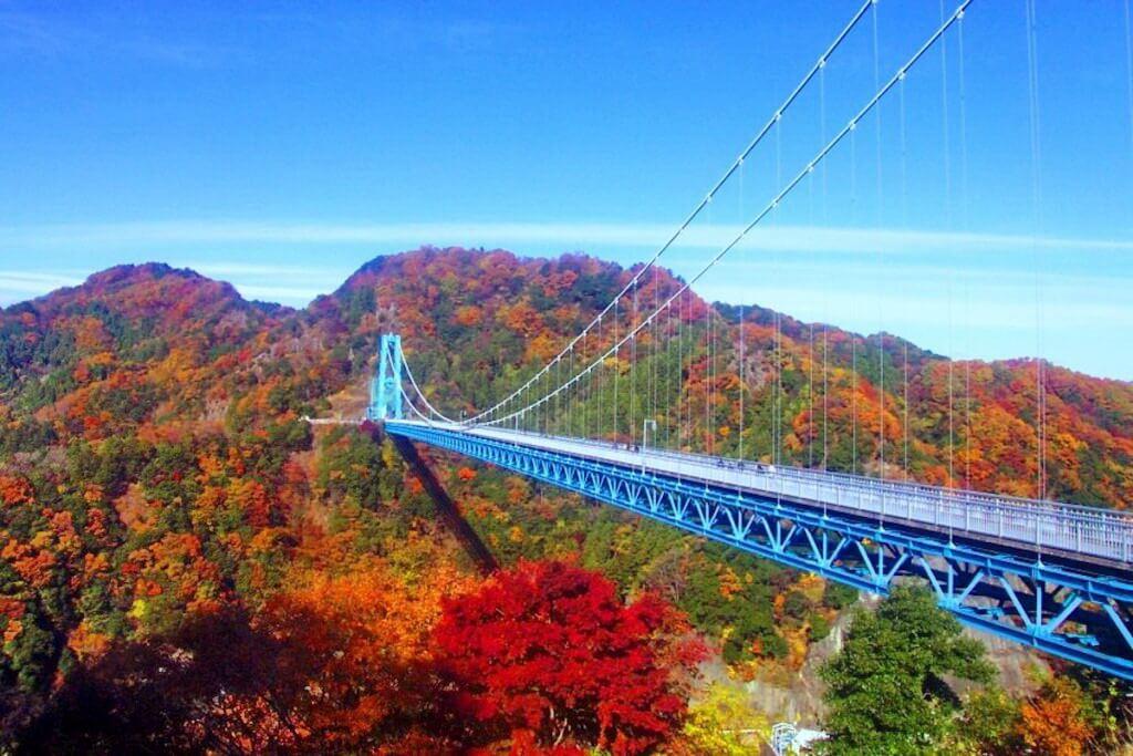 Cầu Ryujin, cầu treo dài nhất Nhật Bản