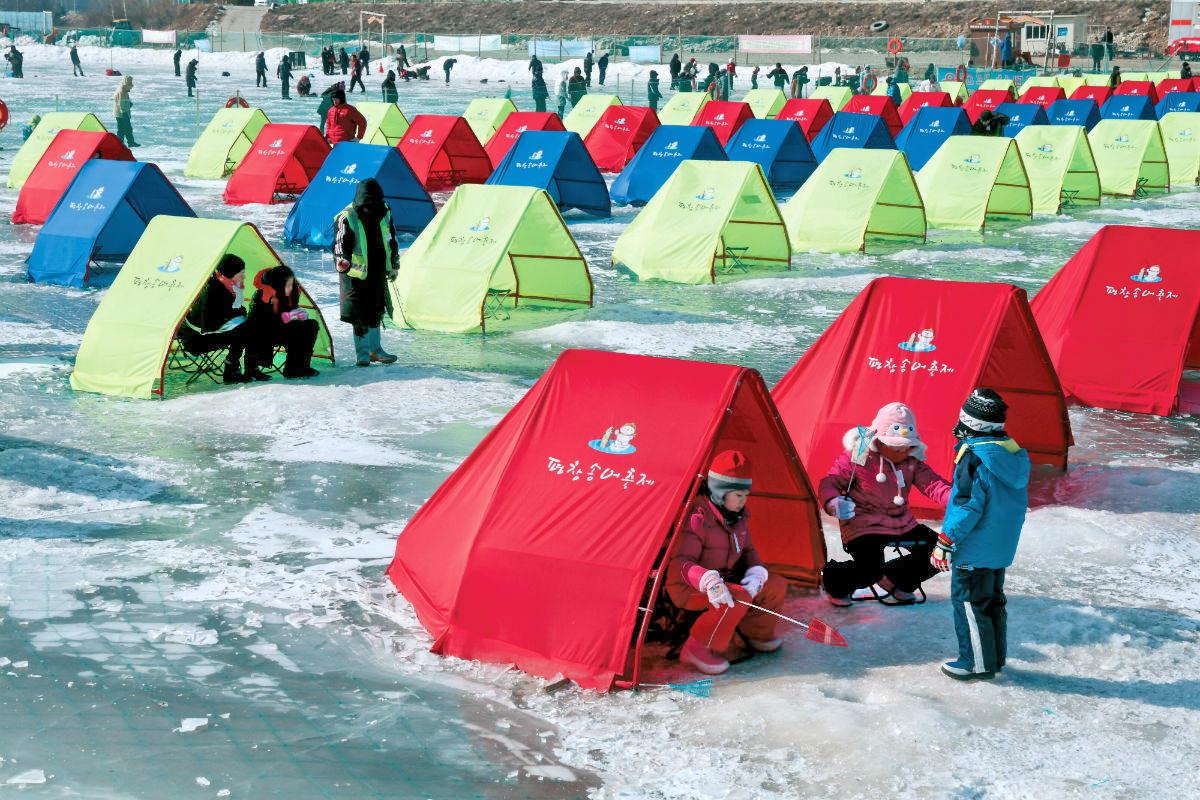 Trải nghiệm câu cá trên băng