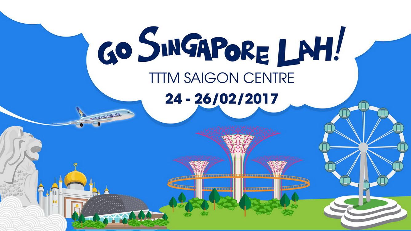 """Cơn mưa khuyến mại tại ngày hội """"GO SINGAPORE LAH"""""""